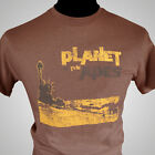 Planet of The Apes Retro Movie T Shirt Sci Fi Vintage 1968 Cool Hipster Brown
