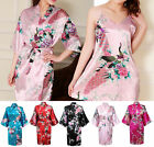 Sexy Ladies Chinese Japanese Kimono Dressing Gown Rope Matched Dress Nightie Set