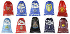 OFFICIAL FOOTBALL TEAM - XMAS SANTA GIFT PRESENT SACKS SACK DECORATION GIFT KIDS