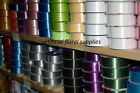 "10m florist poly ribbon 10 metres- 2"" wide - MASSIVE COLOUR SELECTION STOCKED"