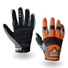 New WARMEN MEN'S Motorcycle Driving Bicycle Pilot Leather Racing MX-30 Gloves