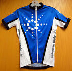 CYCLING JERSEY Full Zip BLUE - Custom Sample from GSG