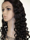 "8""-12"" short Indian Remy Human Hair Lace Front / Full Lace Wigs BODYWAVE WAVY $$"