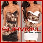 NEW WOMENS SEXY SIZE 6 8 10 12 14 COCKTAIL EVENING CLUB PARTY STRAPLESS DRESS