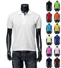New Mens Stylish Casual Polo T-Shirts Tee 13 Colours.(Sz) S / M / L / XL / XXL