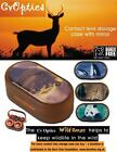 Endangered Species Contact Lens Soaking / Storage Case With Mirror - Lion & More