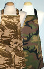 Childs Apron ** Army / Camouflage ** approx 3 - 5 yrs and  5 - 8 yrs