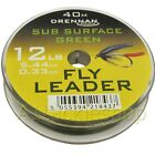 GENUINE Drennan Sub Surface Green Fly Fishing Leader Tippet Material Line