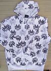 SOUTH POLE MENS AUTHENTIC WHITE LOGO ZIP-UP COTTON/POLY HOODIE SZ M-XXL LIST $60