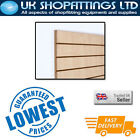 Pack of 8 Maple 4x4 Slatwall Panels + inserts - New