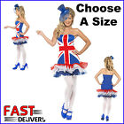 Union Jack Dress Fever's Rule Britannia TuTu Jubilee Olympics Fancy Dress