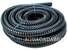 "11/4"" 1.25""32mm BLACK FLEXI HOSE PIPE KOI FISH GARDEN POND FILTER 5 10 15 20 30m"