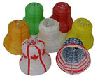 Mini Paper Lantern Wedding Bell Party Decor White Red Green Orange Purple Flag
