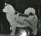 New Unique & Beautiful Alaskan Malamute Dog Etched on Glass set Glassware Choice