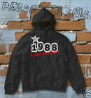 FELPA sweatshirt DATA DI NASCITA 1988 A STAR WAS BORN idea regalo humor