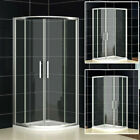 Shower Enclosure Quadrant Walk In Glass Cubicle Door + Stone Tray MI