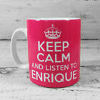 KEEP CALM AND LISTEN TO ENRIQUE IGLESIAS GIFT MUG CUP BRITANNIA RETRO CARRY ON