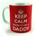 KEEP CALM SOON TO BE A MOM DAD DADDY MOMMY ETC NEW BABY GIFT MUG CUP & CARRY ON