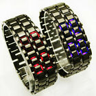 New  Mens Lava Style Iron Samurai LED Metal Watches,M2