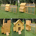 HEN HOUSE CHICKEN COOP POULTRY ARK HOME NEST RUN COUP IN STOCK