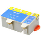 Compatible Kodak No. 10 Black & Colour Ink Cartridges
