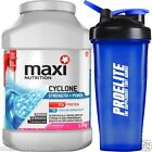 Maximuscle Cyclone 1.2kg All In One + Smart Shaker