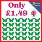 Butterfly Vinyl Wall Art Stickers - Cheap decals graphics for childrens bedrooms