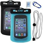 Overboard 100% WATERPROOF Small Phone Case (iPhone HTC Smartphone) in Aqua