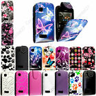 New Printed Magnetic Flip PU Leather Case Cover Pouch For Nokia Asha 200 201