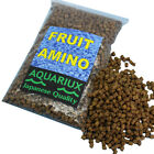 Aquariux fruit amino aquarium fish food pellets high grade with boosted amino