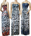 Strappy Summer Maxi Dress UK Size 10 - 26 (SKN-FLO) Available in 4 LengthsStrapp
