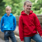 AWDI's Childrens Full Zip Hoodie Hooded Sweatshirt Zoodie - 11 Colours All Sizes