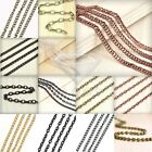 Fashion Ball Curb Cable Rollo Iron Unfinished Chains Jewelry Wholesale Cheap