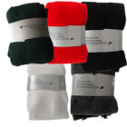 Nifty Plain Tights Black Red Green White Grey Ideal For School Uniform Winter Su