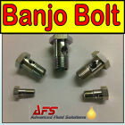 Metric Thread BANJO BOLT Short Single Fitting Diesel Petrol Oil Pipe Fuel Filter