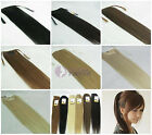"clips in on hair ponytail extensions, 100g, 16""-28"" 17 colors HOT"