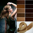 """Hot 20"""" One Piece 5-clips Clip-on Real  Human Hair Extensions 85g  Many colors"""