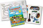 MINI A6 CARS PLANES TRANSPORT ACTIVITY STICKER BOOK CHILDRENS PARTY BAG FILLERS