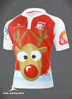 Santa 7's Rugby Shirt Old School Christmas Jumper design (S-XXXXL)