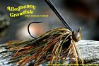 Old Hippy Ultra Custom Football Jig - Allegheny Crayfish