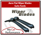 Aero Flat Wiper Blades Suits All Ford Vehicles Front Wipers Pair of Wipers