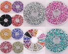 Free ship 20g(1500pc) Crystal Flashy 3*2mm Rhinestone Beads For Crafts 12 Colors