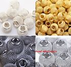 Free shipping 20pcs Mesh spacer beads 12mm Fit Basketball Wives Earrings 5 color