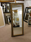 NEW ORNATE GOLD SHABBY CHIC STYLE LONG AND FULL LENGTH DRESSING MIRRORS