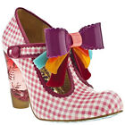 IRREGULAR CHOICE LOVE YOU MARY JANE T BAR VINTAGE ROCKABILLY UK 5 7 RRP£95