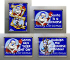 New Birmingham City Quality Fridge Magnets Santa is a Bluenose, Rudolph - u pick