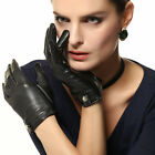 Lady's Touchscreen genuine Nappa leather Gloves gloves for iphone smartphone