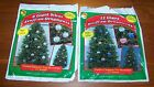 CHRISTMAS Stuff-An-Ornament silver or colored 22 inches each choice NEW