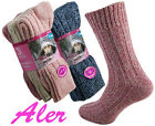 New Womens Ladies Wool Blend Socks Chunky Casual Warm Work Winter Comfort Comfy