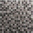 30x30 MSG-0751 1.5cm Matt Lilac Mixed Mosaic Tiles (5 Sheets Or More)